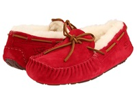 Ugg Dakota Jester Red Suede Women's Moccasin Shoes