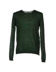 Master Coat Sweaters Emerald Green