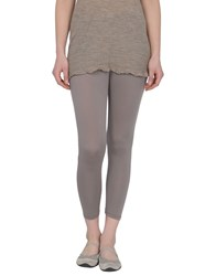 Della Ciana Trousers Leggings Women Dove Grey