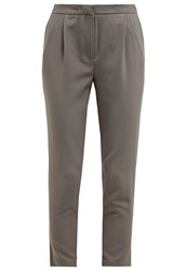 Y.A.S Yas Yasclady Trousers Brushed Nickel Grey