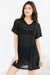Out From Under Mesh Jersey Slip Black