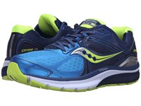 Saucony Omni 15 Twilight Blue Citron Men's Running Shoes