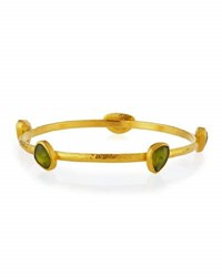 Gurhan Elements 24K Vesuvianite Bangle Bracelet 10.55Tcw
