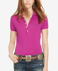 Polo Ralph Lauren Fitted Stretch Bright Magenta