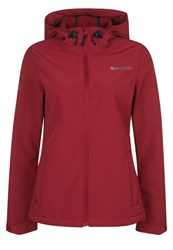 Brunotti Joskos Soft Shell Jacket Burgundy Dark Red
