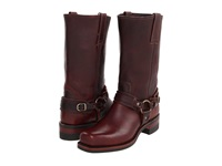 Frye Belted Harness 12R Chestnut Leather Cowboy Boots Brown