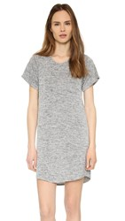 Riller And Fount Anita Shirttail T Shirt Dress Pebble