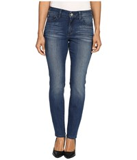 Nydj Petite Kristin Slim Jeans In Montpellier Wash Montpellier Wash Women's Jeans Blue