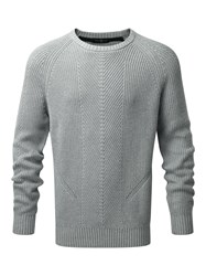 Henri Lloyd Maligar Regular Crew Neck Knit Grey