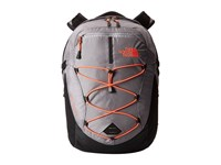 The North Face Women's Borealis Dapple Grey Heather Tropical Coral Backpack Bags Gray