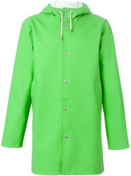 Excelsior X Expo Hooded Raincoat Green
