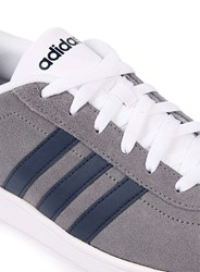 Topman Adidas Neo Vl Court Grey And White Trainers