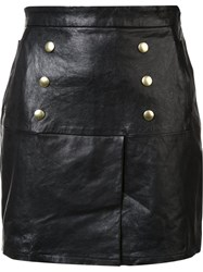 Frame Denim 'Le Overlay' Skirt Black