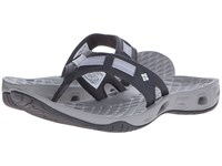 Columbia Sunbreeze Vent Cruz Flip Shark White Women's Sandals Gray