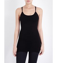 Sweaty Betty Pirouette Stretch Bamboo Top Black