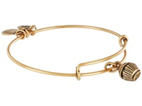 Alex And Ani Cupcake Charm Bangle Russian Gold Finish Bracelet