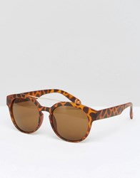 Jeepers Peepers Square Sunglasses Brown