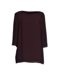Boss Black Blouses Deep Purple
