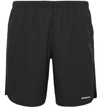 Patagonia Strider Shell Running Shorts Black