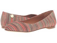 M Missoni Spacedye Ballerina Flat Red Women's Flat Shoes