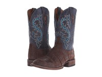 Lucchese Malcom Brandy Cowboy Boots Brown