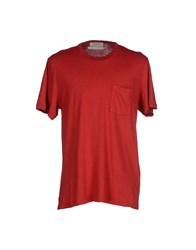 Mauro Grifoni Topwear T Shirts Men Red