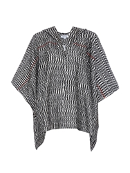 Elizabeth And James Ahana Boucle Weave Poncho