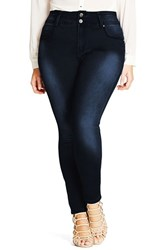 City Chic Plus Size Women's Harley Skinny Jeans