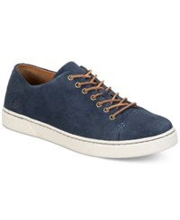 Born Born Men's Bayne Suede Oxfords Men's Shoes Blue
