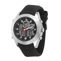 Quiksilver Black Silicon The Fifty Watch