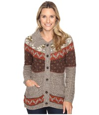 Royal Robbins Mystic Button Cardigan Light Taupe Women's Sweater