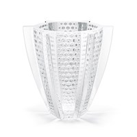 Lalique Rayons Large Vase Clear