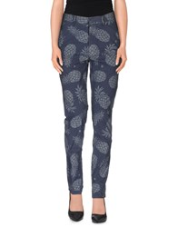 The Editor Trousers Casual Trousers Women Slate Blue