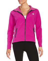 New Balance Soft Shell Jacket Azalea