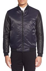 Theory 'Volter' Colorblock Bomber Eclipse