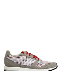Lunge Unisex C Dur Classic Run Sneakers Red