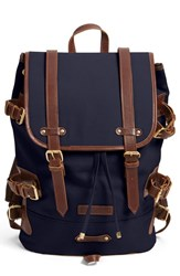 Men's United By Blue 'Derby Tier' Backpack Blue Navy