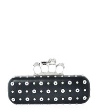 Alexander Mcqueen Knuckle Duster Clutch Female Black