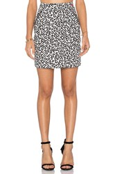 Love Moschino Front Zipper Pockets Mini Skirt Black