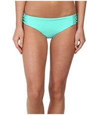 Body Glove Smoothies Ruby Low Rise Bottom Lagoon Women's Swimwear Blue