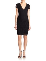 Nightcap Clothing Victorian Lace Sheath Dress Black