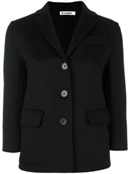 Jil Sander Flap Pockets Blazer Black