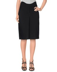 Agnona Skirts Knee Length Skirts Women Black