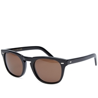 Cutler And Gross 1032 Sunglasses Black And Dark Brown