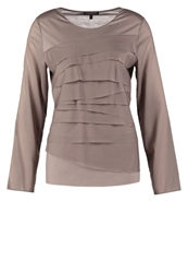 Strenesse Long Sleeved Top Grey Light Grey