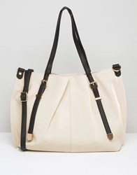 Oasis Stella Shopper Neutral White