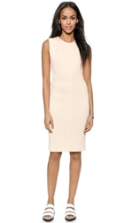 O'2nd Basket Weave Sheath Dress Light Pink