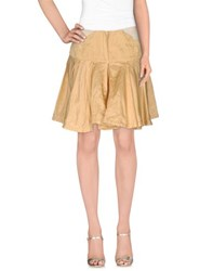 Collection Priv E Skirts Knee Length Skirts Women Beige