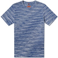 Missoni Space Dyed Tee Blue Multi