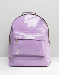 Mi Pac Exclusive Lilac Patent Backpack Lilac Purple
